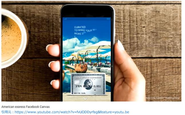 ランディングページのフォーマットのインスタンスエクスペリエンス(旧称:キャンバス広告)のイメージ画像