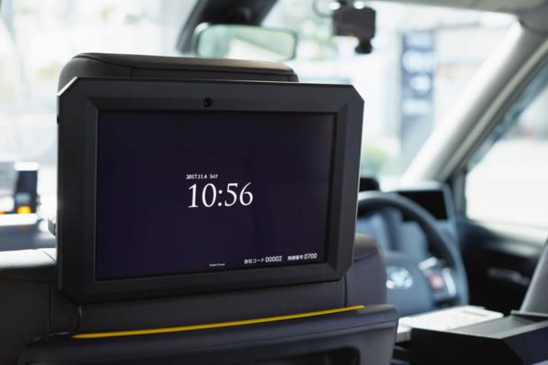 オフライン広告_タクシー広告(動画)のイメージ画像