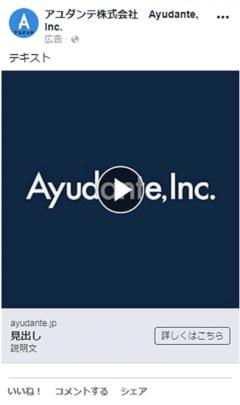 Facebook広告の動画広告