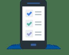 モバイルマーケティングで使われるモバイルのイメージ