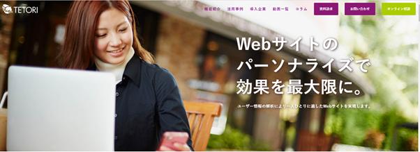 Web接客ツール_TETORIの画像